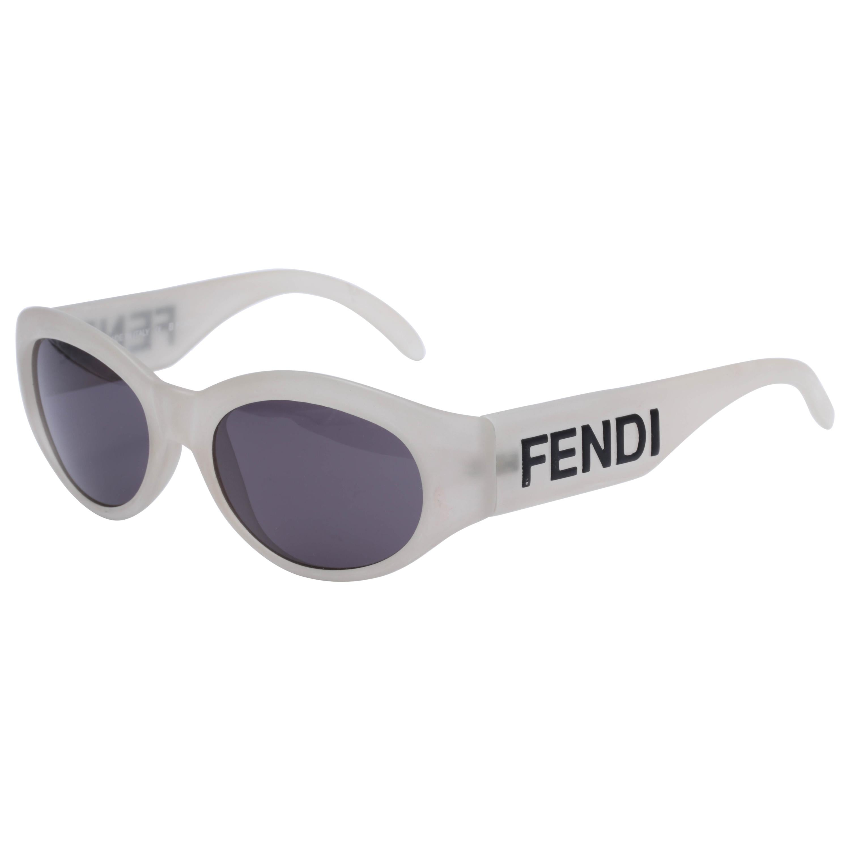 9fcde7c0cf46a Vintage Fendi Logo Sunglasses For Sale at 1stdibs