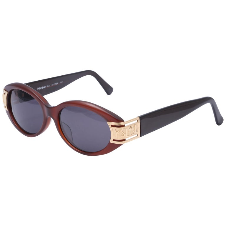 Vintage Yves Saint Laurent YSL Sunglasses  For Sale