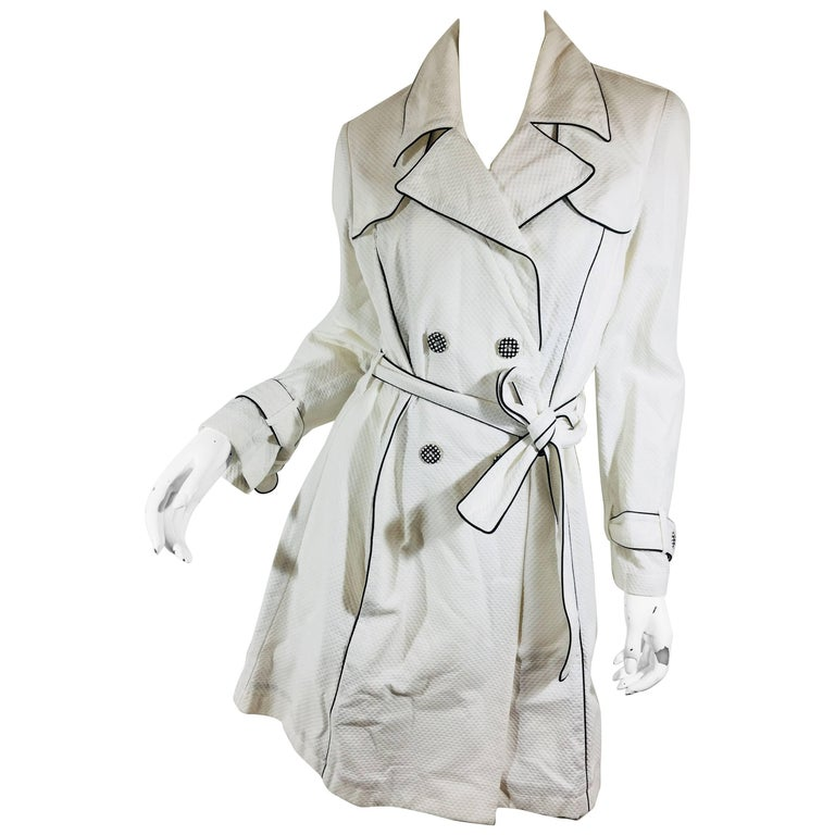 Anne Fontaine Belted Trench Coat