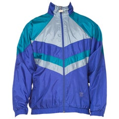 1980s 1990s Mens Nylon Sportswear Jacket