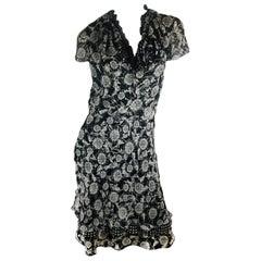 Tuleh Cap Sleeve Dress