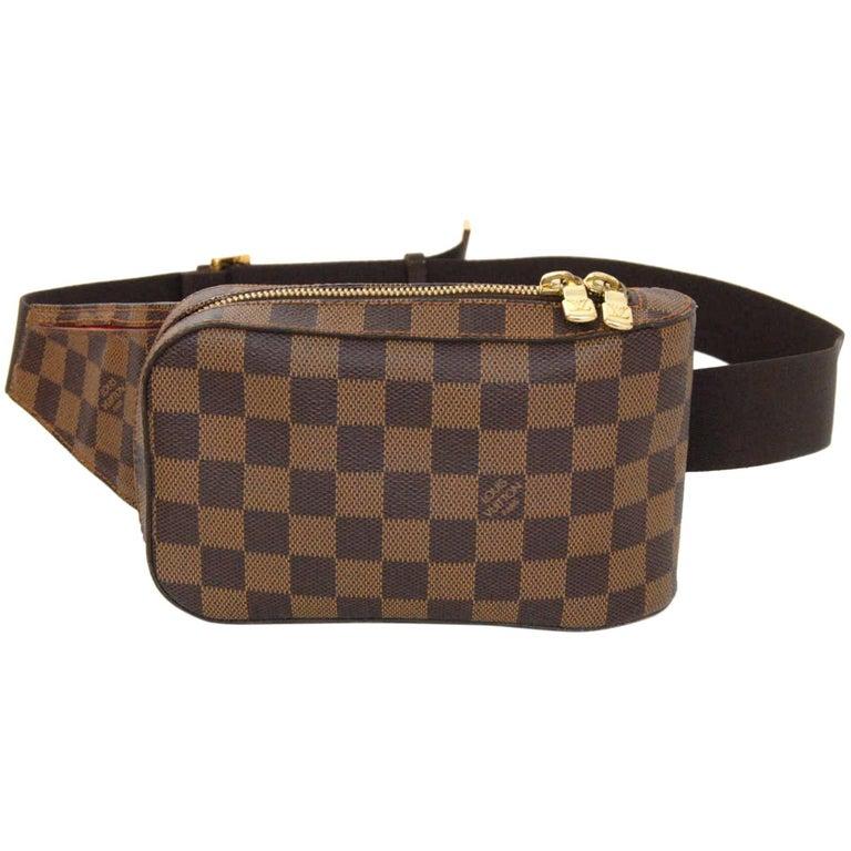 c392e2e03eec Louis Vuitton Damier Geronimos Waist Pouch Belt Bag Fanny Pack For Sale
