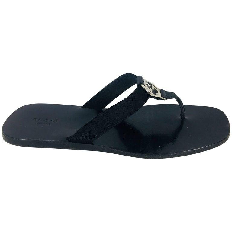 Gucci GG Flip Flops