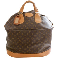 70s Louis Vuitton Large Steamer Bag Monogram Travel Tote Saks 5th Ave