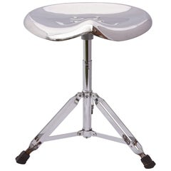 Yasu Sasamoto Dulton Chrome Stool