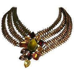 Yves Saint Laurent Haute Couture Necklace