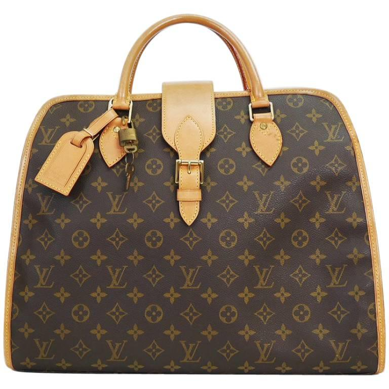 Louis Vuitton Monogram Rivoli Briefcase Business Bag