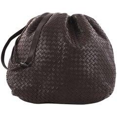 Bottega Veneta Drawstring Shoulder Bag Intrecciato Nappa Large