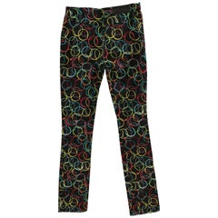 Moschino Vintage Multicoloured Trousers