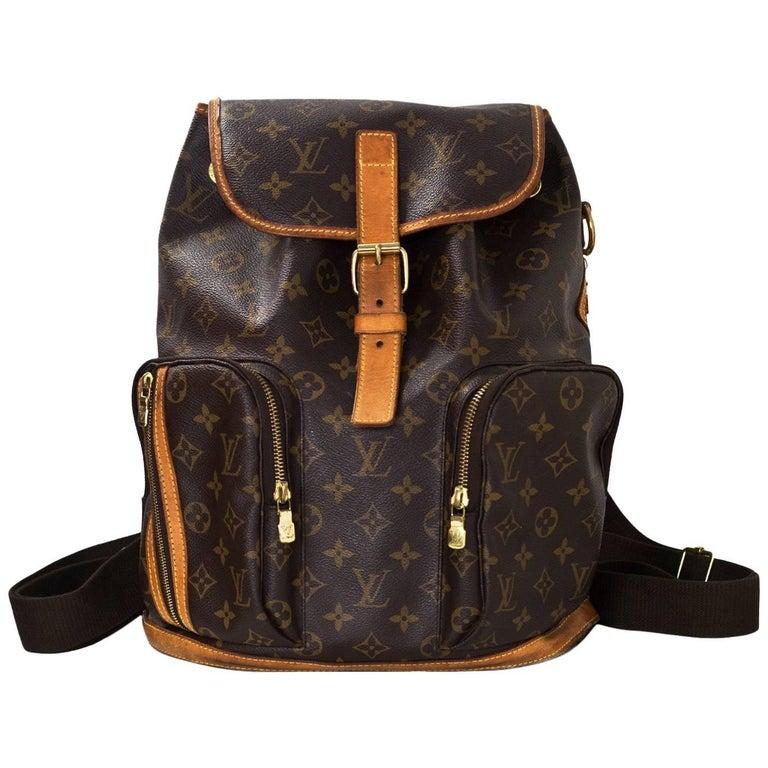 Louis Vuitton Monogram Bosphore Backpack Bag