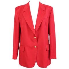 Burberry Jacket Balzer Cotton Vintage Red