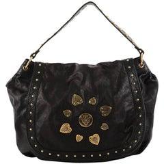 Gucci Irina Babouska Shoulder Bag Leather