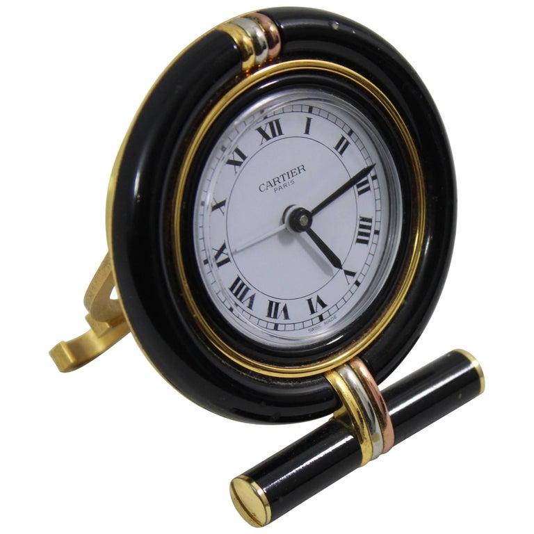Cartier Trinity Vintage Travel Clock
