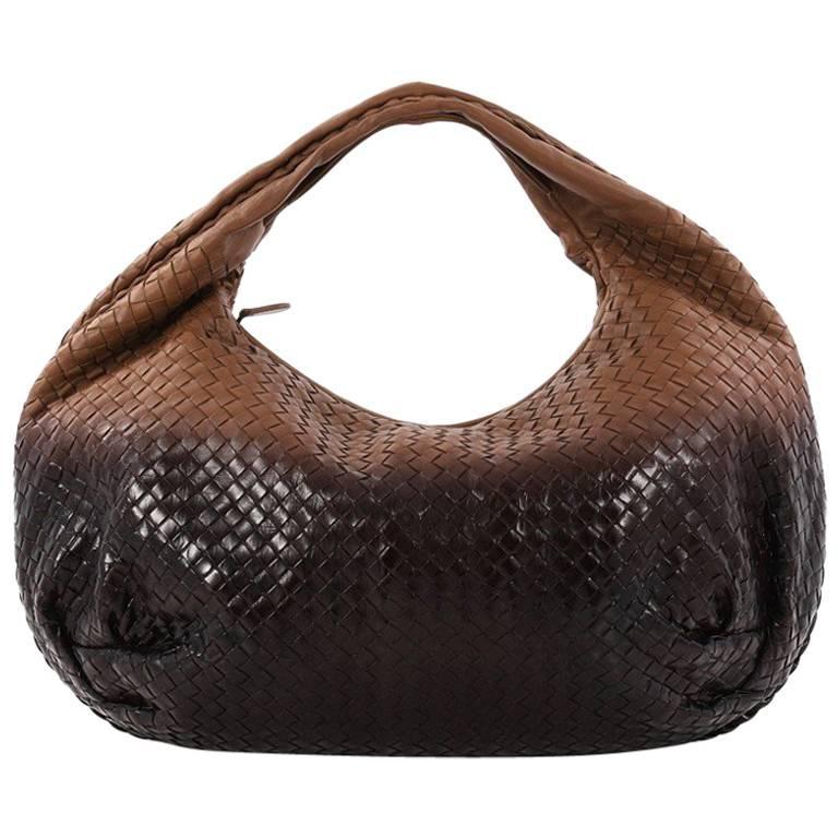 6937a6c0f8e4 ... PursesShoulder Bags. Bottega Veneta Belly Hobo Intrecciato Nappa Large  For Sale