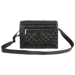 Chanel Black Caviar Large Coco Cocoon Messenger Bag