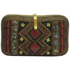 Hansen Designs Vintage Jeweled Clutch