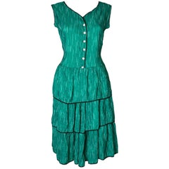 Ruffled Vintage Sundress