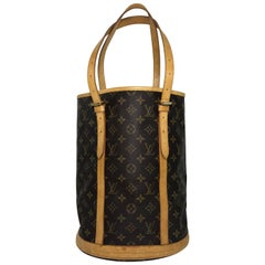 Louis Vuitton Monogram Bucket GM Shoulder Bag