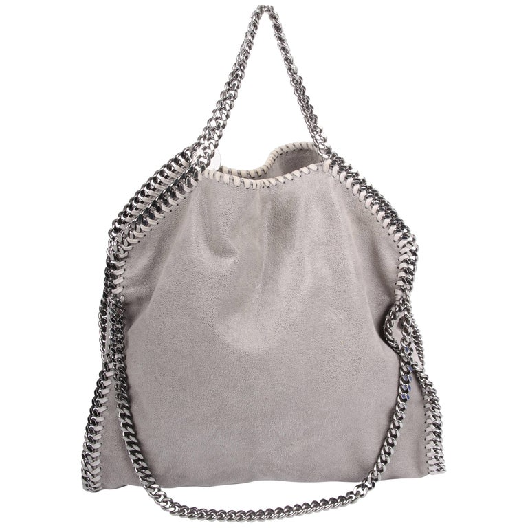 41a409d71d Stella McCartney Falabella Shaggy Deer Bag - grey at 1stdibs