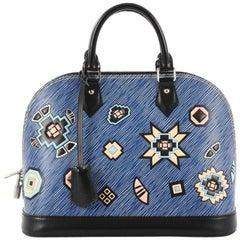 Louis Vuitton Alma Handbag Limited Edition Azteque Epi Leather PM