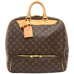 Louis Vuitton Evasion Monogram Canvas Large Travel Hand Bag