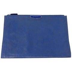 Blue Givenchy Clutch