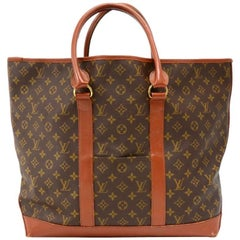 Louis Vuitton Vintage Sac Weekend Monogram Canvas Tote Bag