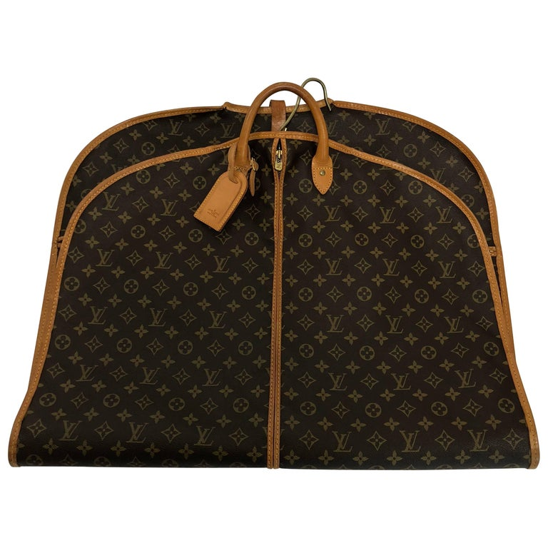 Louis Vuitton Monogram Garment Cover (Canvas on both sides) Travel Bag