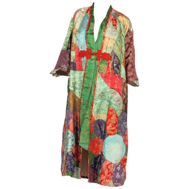 1930s Asian Patchwork Coat