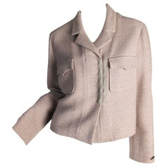 Chanel wool and alpaca short Jacket, 1999