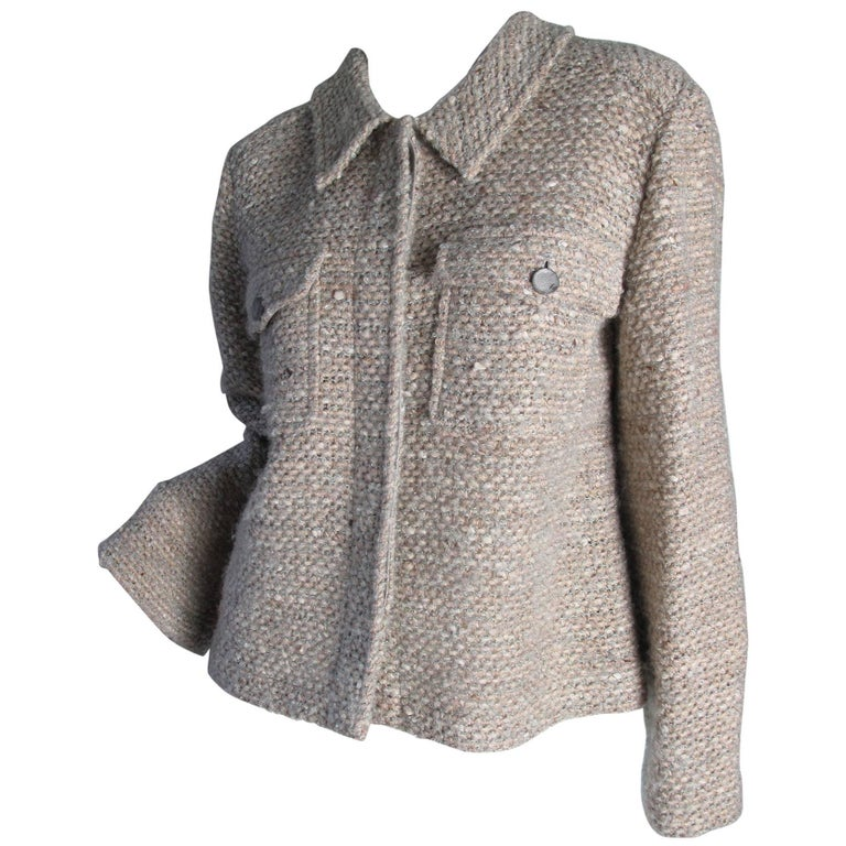 Chanel Open Weave Jacket