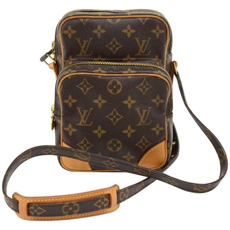 Louis Vuitton Amazone Monogram Canvas Messenger Bag