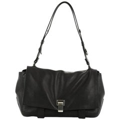 Proenza Schouler Courier Bag Leather Medium