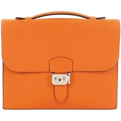 Hermes Sac a Depeche Handbag Swift 27