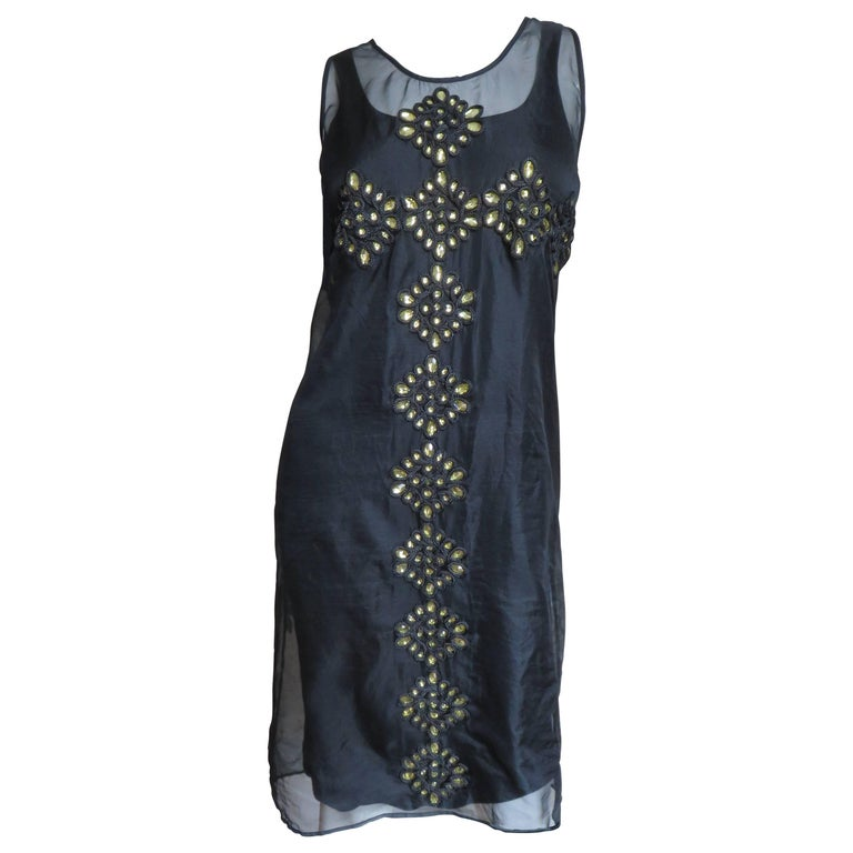 Givenchy Jewelled Organdy Dress