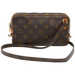 Louis Vuitton Pochette Marly Bandouliere Monogram Canvas Shoulder Bag