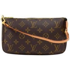 Louis Vuitton Pochette Accessories Monogram Canvas Hand Bag