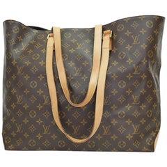 Louis Vuitton Monogram Cabas Alto XL Shopping Tote Bag