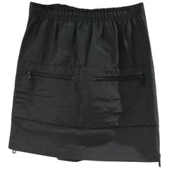 Chanel Boutique Black CC Skirt