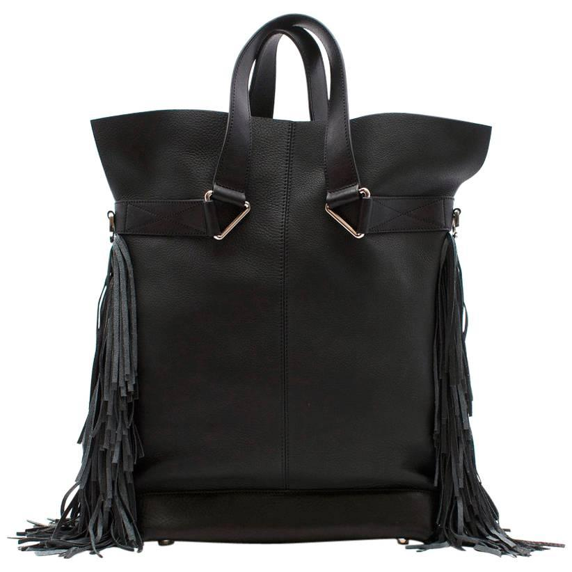 1stdibs Max V. Koenig Aquila Black Leather Tote Bag njcct6pq3V