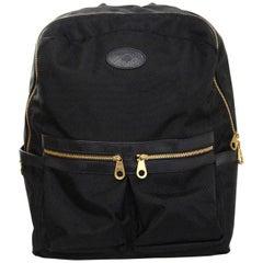 Mulberry Black Textured Nylon Henry Backpack Bag rt. $780