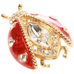 Christian Dior Beetle Brooch