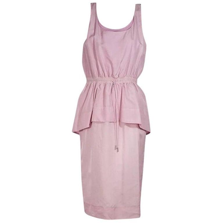 Lavender Sportmax Peplum Dress