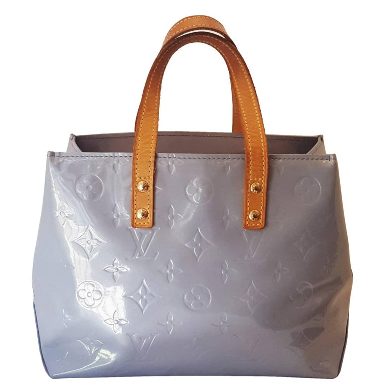 Louis Vuitton Sky Blue Top Handle Vernis Bag