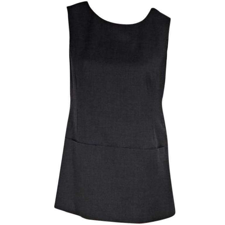 Grey Jil Sander Wool Top
