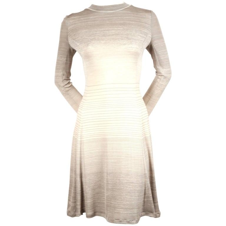 1970's LEONARD silk jersey dress