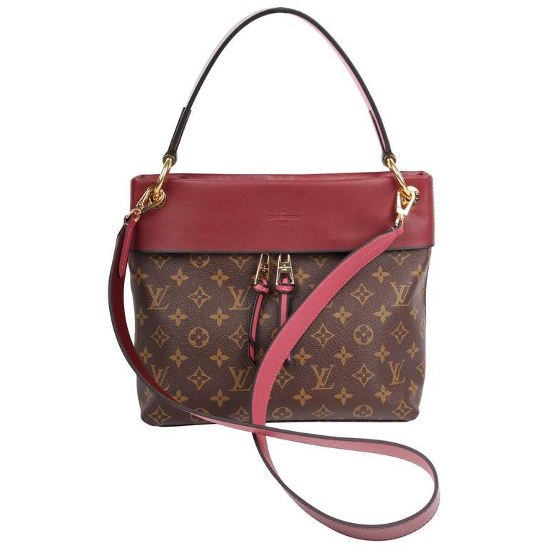 Louis Vuitton Tuileries Besace Monogram Bag - brown/burgundy red