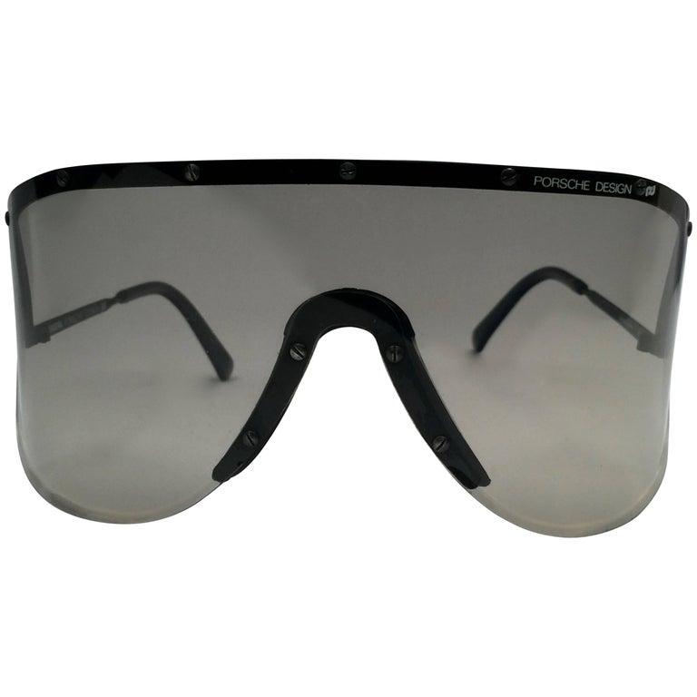 37194171cbaa New Vintage Porsche Design 5620 Shield Collector Item 1980 s Yoko Ono  Sunglasses For Sale