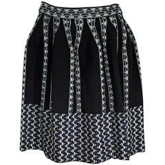 Multicolor M Missoni Knit Skirt