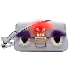 Fendi micro 'Baguette' Bag Bugs crossbody bag